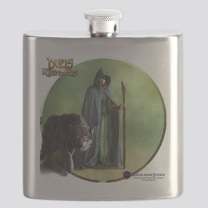 Human Druid Female - Shirt Flask