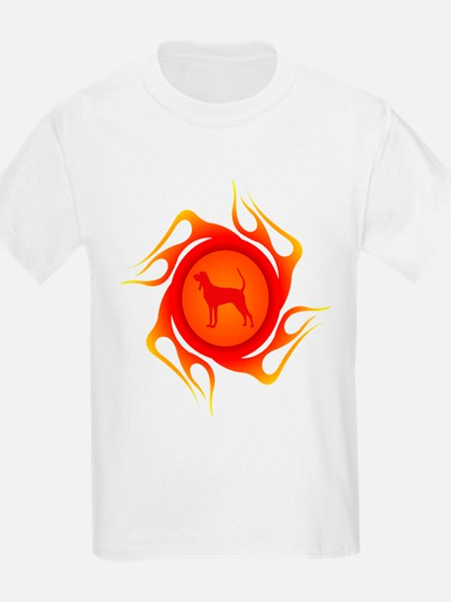 Black & Tan Coonhound Kids T-Shirt