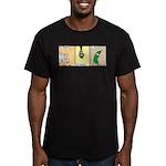 Zoochini Men's Fitted T-Shirt (dark)