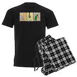 Zoochini Men's Dark Pajamas