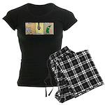 Zoochini Women's Dark Pajamas