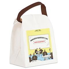 Veggy Turkeys Canvas Lunch Bag