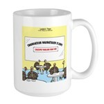 Veggy Turkeys Large Mug