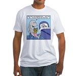 Shark Bedtime Story Fitted T-Shirt