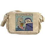 Shark Bedtime Story Messenger Bag