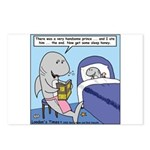 Shark Bedtime Story Postcards (Package of 8)