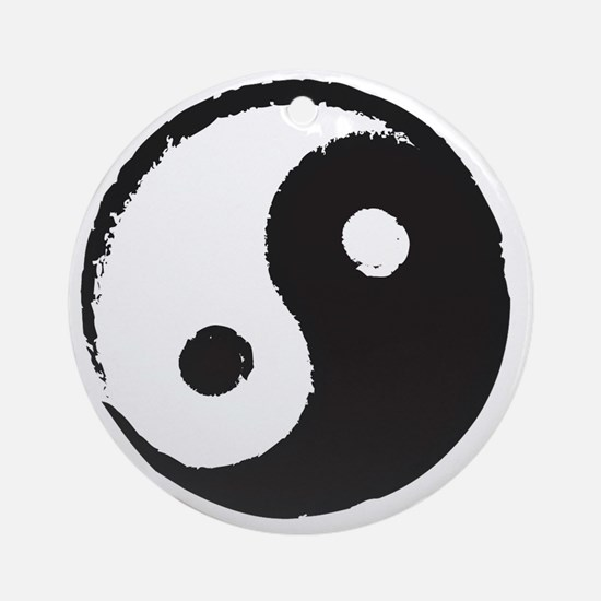 YingYang Round Ornament