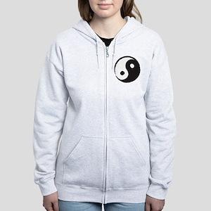 YingYang Women's Zip Hoodie