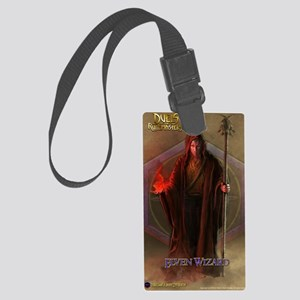 Elf Wizard Male Journal Large Luggage Tag