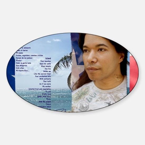 Isla-Card Sticker (Oval)