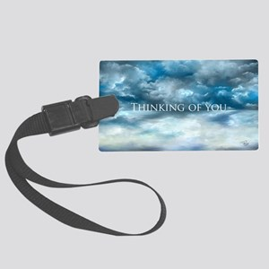 Thinking of you Large Luggage Tag