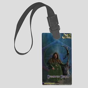 Dwarf Druid Female Journal Large Luggage Tag