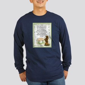 Blessing of the Dogs Long Sleeve Dark T-Shirt