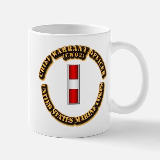 USMC - Chief Warrant Officer - CW3 Mug