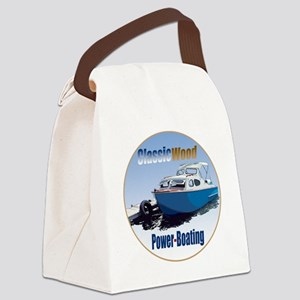 ClassicPowerboat-C8 Canvas Lunch Bag
