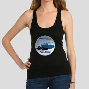 ClassicPowerboat-C8 Racerback Tank Top