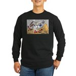 Rocking Horses Long Sleeve Dark T-Shirt