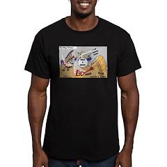 Rocking Horses Men's Fitted T-Shirt (dark)