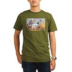 Rocking Horses Organic Men's T-Shirt (dark)