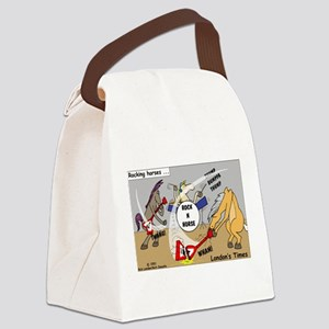 Rocking Horses Canvas Lunch Bag