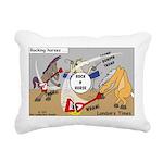 Rocking Horses Rectangular Canvas Pillow