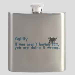 Agility Having Fun Flask