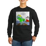 Rhino Dress Long Sleeve Dark T-Shirt