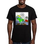 Rhino Dress Men's Fitted T-Shirt (dark)