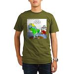 Rhino Dress Organic Men's T-Shirt (dark)