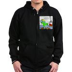 Rhino Dress Zip Hoodie (dark)