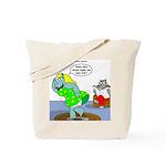 Rhino Dress Tote Bag
