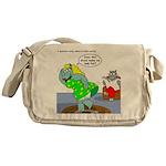 Rhino Dress Messenger Bag