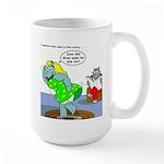 Rhino Dress Large Mug