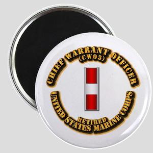 USMC - CW3 - Retired Magnet