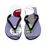 Frankensteins Muenster Flip Flops