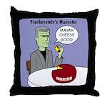 Frankensteins Muenster Throw Pillow