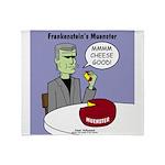 Frankensteins Muenster Throw Blanket