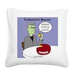 Frankensteins Muenster Square Canvas Pillow