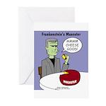 Frankensteins Muenster Greeting Cards (Pk of 20)