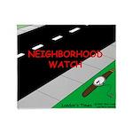 Neighborhood Watch Throw Blanket