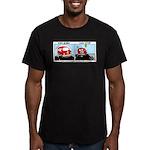 Van Gogh Van Stop Men's Fitted T-Shirt (dark)