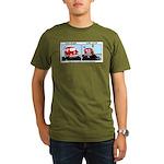 Van Gogh Van Stop Organic Men's T-Shirt (dark)