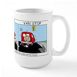 Van Gogh Van Stop Large Mug