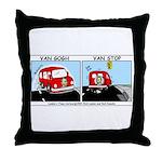 Van Gogh Van Stop Throw Pillow
