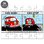 Van Gogh Van Stop Puzzle