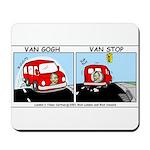 Van Gogh Van Stop Mousepad