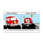 Van Gogh Van Stop 20x12 Wall Decal