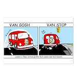 Van Gogh Van Stop Postcards (Package of 8)