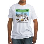 Snowman Seminar Fitted T-Shirt