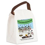 Snowman Seminar Canvas Lunch Bag